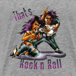 that's rockn'n'roll - Men's Premium T-Shirt
