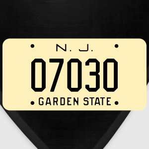 Retro Hoboken New Jersey License Plate T-Shirt - Bandana