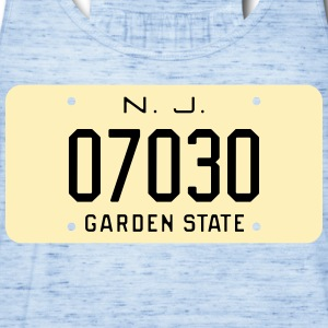 Retro Hoboken New Jersey License Plate T-Shirt - Women's Flowy Tank Top by Bella