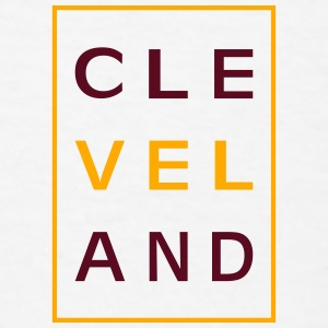 Cleveland Typography Baby Bodysuits - Men's T-Shirt