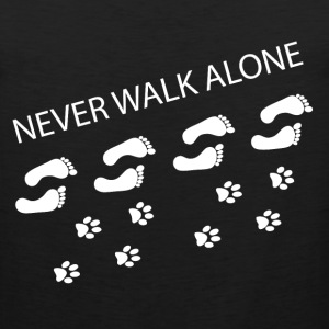 Never Walk Alone  T-Shirts - Men's Premium Tank