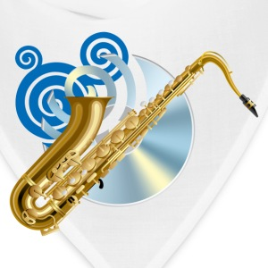Fashion musical saxophone - Bandana