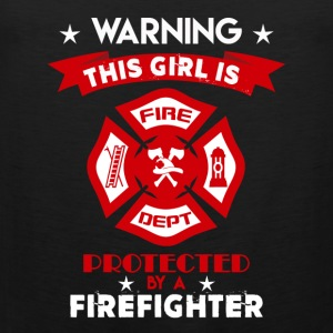 Protected By Firefighter - Men's Premium Tank