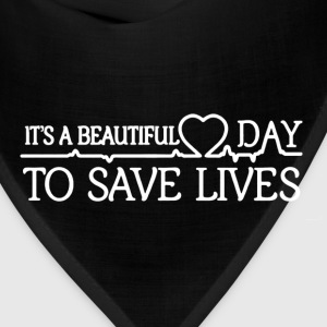 Save Lives Shirt - Bandana