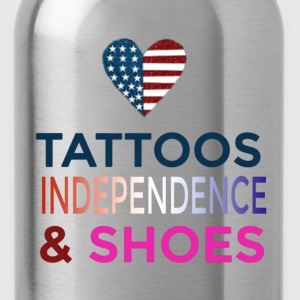 Tattoo's and Shoes - Water Bottle