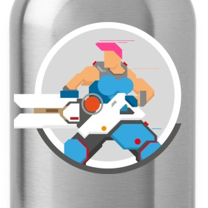 zarya overwatch - Water Bottle
