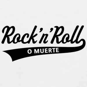 Rock 'n' Roll O Muerte (Rock 'n' Roll Or Death) Phone & Tablet Cases - Men's Premium Tank