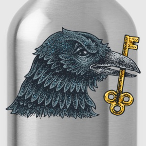 Eagle with key creative design T-Shirts - Water Bottle