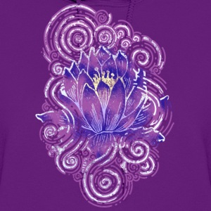 Lotus flower Abstract - Women's Hoodie