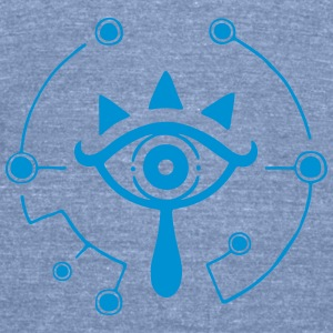 Sheikah Eye Of Truth Tanks - Unisex Tri-Blend T-Shirt by American Apparel
