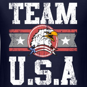 Team USA Long Sleeve Shirts - Men's T-Shirt