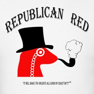 REPUBLICAN RED!  It's some Crazy Sh*t! Long Sleeve Shirts - Men's T-Shirt