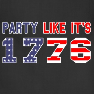 party like it's 1776 T-Shirts - Adjustable Apron