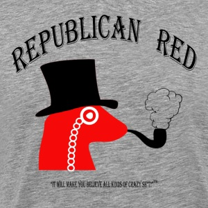 REPUBLICAN RED!  It's some Crazy Sh*t! Long Sleeve Shirts - Men's Premium T-Shirt