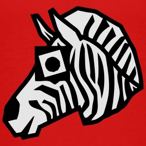 zebra drawing animals form 811 Kids' Shirts - Toddler Premium T-Shirt