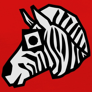 zebra drawing animals form 811 T-Shirts - Women's Premium Long Sleeve T-Shirt
