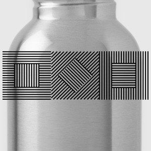 Abstract Geometry 07A T-Shirts - Water Bottle