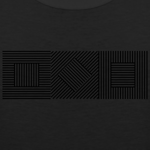 Abstract Geometry 07A T-Shirts - Men's Premium Tank