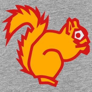 squirrel drawing animals form 811 Kids' Shirts - Toddler Premium T-Shirt