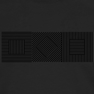 Abstract Geometry 07A T-Shirts - Men's Premium Long Sleeve T-Shirt
