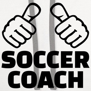 Soccer coach T-Shirts - Contrast Hoodie
