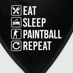 Paintball Eat Sleep Repeat T-Shirts - Bandana