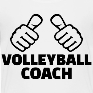 Volleyball coach Kids' Shirts - Toddler Premium T-Shirt