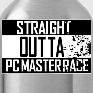 Straight Outta Pc Master Race T-Shirts - Water Bottle