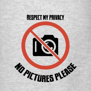 no pictures please Hoodies - Men's T-Shirt