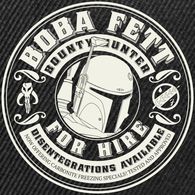 "American Apparel ""Boba for Hire"" Men's Tee"