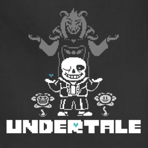 Undertale trinity T-shirt - Adjustable Apron