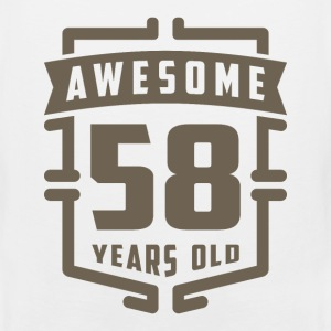 Awesome 58 Years Old - Men's Premium Tank