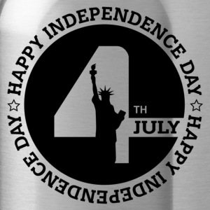 HAPPY INDEPENDENCE DAY T-Shirts - Water Bottle