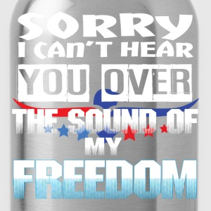SOUND OF FREEDOM T-Shirts - Water Bottle