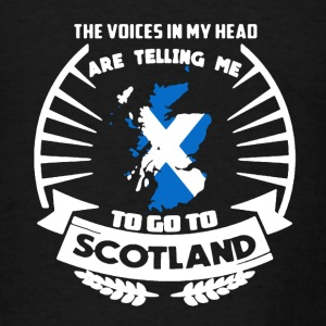 Scotland Shirt - Men's T-Shirt