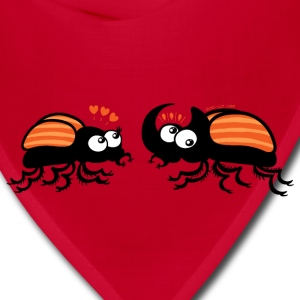 Rhinoceros beetles falling in love Bags & backpacks - Bandana