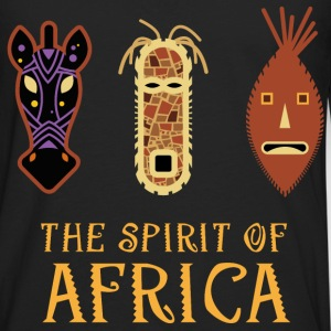 faces_of_africa_06201603 T-Shirts - Men's Premium Long Sleeve T-Shirt