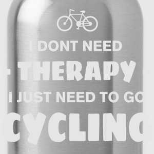 CYCLING THERAPY Women's T-Shirts - Water Bottle