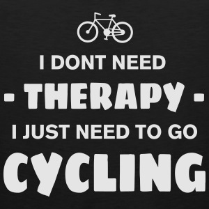 CYCLING THERAPY Women's T-Shirts - Men's Premium Tank