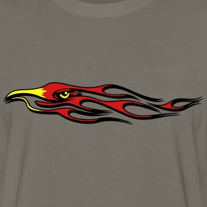 Fire flame bird T-Shirts - Men's Premium Long Sleeve T-Shirt
