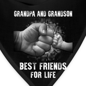 Grandpa And Grandson Best Friends For Life T-Shirts - Bandana