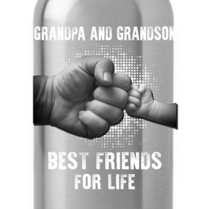 Grandpa And Grandson Best Friends For Life T-Shirts - Water Bottle