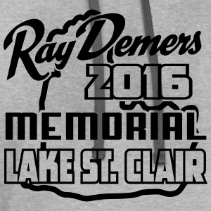 Ray Demers 2016 Can-Am Memorial Muskie Tournament  - Contrast Hoodie