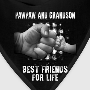 Pawpaw And Grandson Best Friends For Life T-Shirts - Bandana