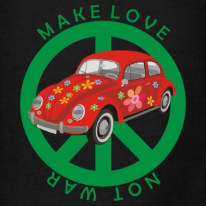Make love - not war bag - Men's T-Shirt