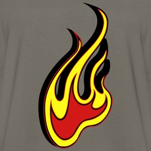 Fire flame 3D T-Shirts - Men's Premium Long Sleeve T-Shirt