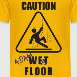 Adam West Floor Sign Kids' Shirts - Toddler Premium T-Shirt