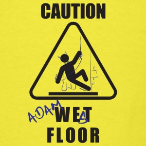 Adam West Floor Sign Baby Bodysuits - Men's T-Shirt