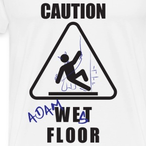 Adam West Floor Sign Tanks - Men's Premium T-Shirt