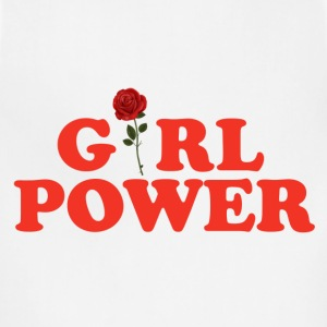 Girl Power  Women's T-Shirts - Adjustable Apron